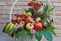 Cestas de Fruta / Cestas de Fruta fresca de floristeríafernando.com