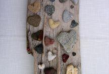 Driftwood - Drivved - DIY / Ideas m- Ideer Hva du kan lage selv