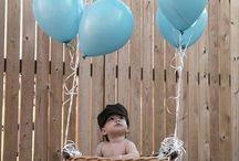 Baby boys birthday / Ryders 1st birthday