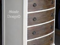 Furniture makeovers / Wooden furniture makeover looks