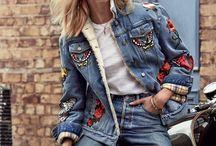 Elisette: The Sense / Denim fashion editorial inspiration.