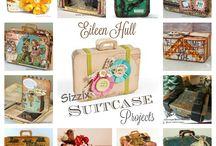 Suitcase die