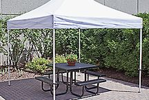 Exhibit Booth  / Ideas for displaying merchandise at an exhibit booth, like for an outdoor craft fair.