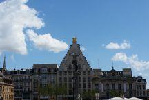 Le ciel bleu de Lille / Prouvons une bonne fois pour toutes qu'il ne pleut pas toujours à Lille ! Montrons le soleil du Nord au reste du monde !