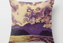 My Throw Pillows / by The Artwork Of Morgan Ralston