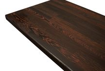 Wenge Worktops / An exotic and opulent timber, wenge brings a sense of drama and decadence to every kitchen.