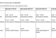 Il programma delle attività / Questa sera, successivamente ai corsi di #italiano, abbiamo in programma un aperitivo vegetariano con i nostri studenti.  Ci vediamo alle 19,00 davanti alla #scuola