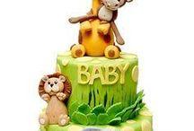 1 yaş erkek çocuk pasta modelleri