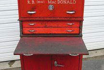 Vintage tools box
