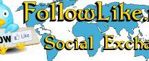 FollowLike.net Social Exchange / by #1 Internet Affiliate Program!