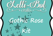 Gothic Rose Kit / This is the new Gothic Rose Kit that goes with the Gothic Rose stamp set