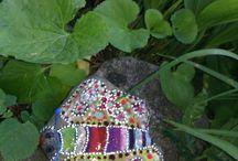 Malowane kamienie / painting rocks / Z serca malowane na kamieniu <3