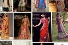 Traditional / Indian clothes! It includes kurtis, lenghas, blouses, saares