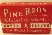 Old Advertising/Product / by Pine Bros