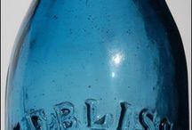 Côté jolies bouteilles, cloches, flacons et bocaux / tout sur le verre