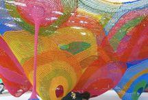 tvorba,kreace,tkaní.,zajímavé textilní formy