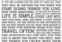 Quotes/Inspo