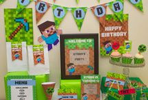 Chase's 5th Birthday Minecraft Party! / by Joyce Moore Coldwell Banker Realtor