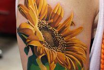 sunflowers Tattoos