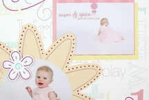 Girl layouts for Scrapbooking