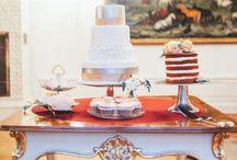 WEDDING CAKES & SWEET TABLES / Wedding cakes, birthday cakes, beautiful cakes and sweet tables, cake bars, candy bars | Hochzeitstorten, Geburtstagstorten, Süßes