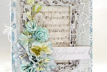 2 Shabby chic cards/projects