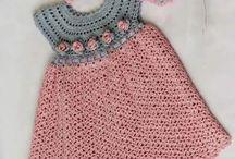 Horgolás gyerekeknek - Crochet for kids- вязание крючком - дети