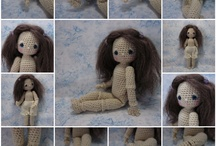 Free  crochet pattern dolls and toys  / by lydie
