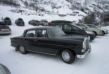 Colas - Fintail - Heckflosse - w110 - w111 - w112