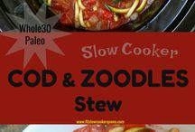 Slow cooker fish receipes