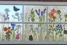 old window painted