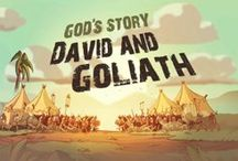 November David and Goliath / God wants to keep you safe / by Teri Fielder