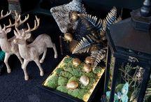 Maneras de sentir la #Navidad 2014: colección botánica / Una colección exótica en la que colores como el dorado o el esmeralda y flores o animales tropicales son protagonistas. Elegancia natural para decorar la Navidad.  Conoce la colección completa aquí: http://bit.ly/1xJ3s1g