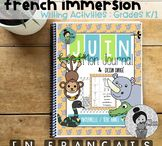 french immersion writing