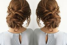 Hairstyle / Messy updo