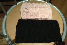 Knitting and crochet / I made this