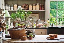 Kitchen design for work