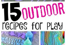 Outdoor Play Ideas / by ScienceSparks