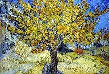 "Vincent Van Gogh (1889) - ""Mulberry Tree."""