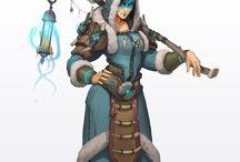 female shaman, sources,