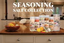 Seasoning Salt Collection / Seasoning collection comprises with different flavor of seasoning pizza, seasoning lemon, seasoning sea food and all-purpose seasoning collection. Salt pepper collection is another count that can used to enrich the taste of any meat, fish, poultry and burger