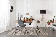 Eettafel tapijt