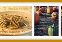 Month of Pumpkins Recipes