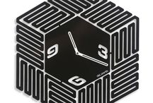Design clock LABYRINTH / Design clock LABYRINTH - 40 cm / 15.75 inc. - Design Jacques Lahitte © Tolonensis Creation [ All right reserved ]