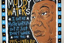 Muddy Waters - Pics and Art / Brought to you by www.mojohand.com - the world's largest online Blues store - Blues news, t-shirts, folk art, posters and much more - shipped worldwide