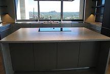 Concrete Countertops / Portfolio of custom designed and build concrete countertops by Paradise Concrete