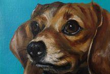 Pet Portraits / Custom pet portraits!