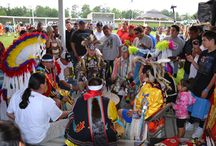 The Beat of Mother Earth - Native American Drum Groups / Drums are the backbone to all Native American music. It is thought that it carried the heart of Mother Earth. We celebrate all our Pow Wow (Wacipi) Drum Groups