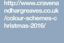 Colour Schemes For Christmas 2016