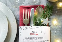 Table Noël déco